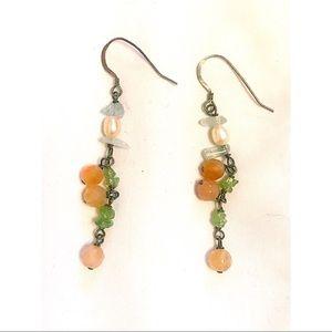 Jewelry - Beaded dangling earrings.